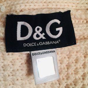 DOLCE & GABBANA ~  WOOL KNIT BABY BOY  SAILOR HAT